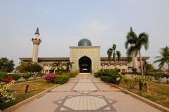 Sultan Abdul Samad Mosque (KLIA-moské) Arkivfoto