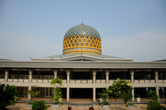 Sultan Abdul Samad Mosque (KLIA-moské) Arkivbilder