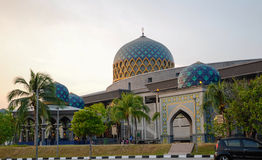 Sultan Abdul Samad Mosque (KLIA Mosque) Royalty Free Stock Photo