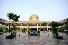 Sultan Abdul Samad Mosque (KLIA Mosque) Royalty Free Stock Images