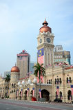 Sultan Abdul Samad palace. In Kuala Lumpur, Malaysia Royalty Free Stock Photography