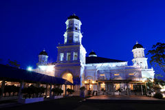 Sultan Abu Bakar Moschee Lizenzfreie Stockfotos