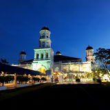 Sultan Abu Bakar Mosque Photo libre de droits