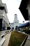 Sultan Abu Bakar State Mosque in Johor Bharu, Malaysia Stock Photos