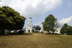 Sultan Abu Bakar State Mosque in Johor Bharu, Malaysia Stock Photography