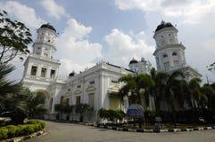 Sultan Abu Bakar State Mosque in Johor Bharu, Malaysia Lizenzfreie Stockbilder