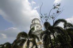 Sultan Abu Bakar State Mosque in Johor Bharu, Malaysia Stockfotos
