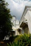Sultan Abu Bakar State Mosque in Johor Bharu, Malaysia Stockbilder