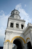 Sultan Abu Bakar State Mosque in Johor Bharu, Malaysia Lizenzfreies Stockbild