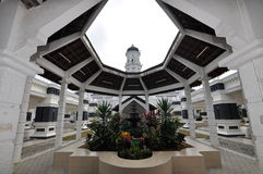 Sultan Abu Bakar State Mosque in Johor Bharu, Malaysia Royalty Free Stock Image
