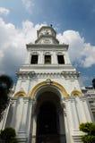 Sultan Abu Bakar State Mosque in Johor Bharu, Malaysia Stock Photo