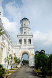 Sultan Abu Bakar State Mosque in Johor Bharu, Malaysia Stock Image