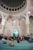 Sultan Ahmad I Moschee, Kuantan, Pahang Stockbilder