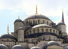 Sultan Ahmad Mosque in Istanbul Royalty Free Stock Photography