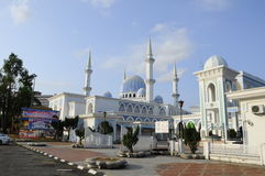 Sultan Ahmad 1 Mosque in Kuantan Stock Photos