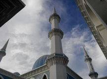 Sultan Ahmad 1 Mosque in Kuantan Stock Photos