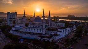 Sultan Ahmad Shah Mosque imagens de stock