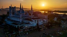 Sultan Ahmad Shah Mosque fotografie stock