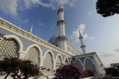 Sultan Ahmad Shah 1 Mosque in Kuantan Royalty Free Stock Photos