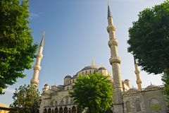 Sultan Ahmed Blue Mosque Stock Foto's