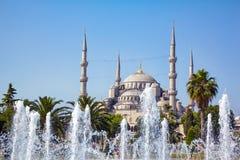Sultan-Ahmed-Moschee (blaue Moschee), Istanbul Stockbilder