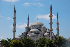 Sultan Ahmed Mosque Stock Foto's