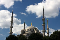 Sultan Ahmed Mosque Royalty Free Stock Image