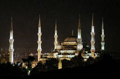 Sultan Ahmed Mosque Stock Images