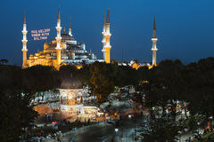 Sultan Ahmed Mosque Imágenes de archivo libres de regalías