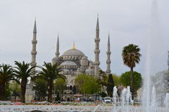Sultan Ahmed Mosque Fotografia de Stock Royalty Free