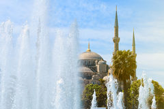 Sultan Ahmed Mosque, blaue Moschee, Istanbul lizenzfreie stockfotos
