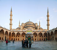 Sultan Ahmed Mosque (Blauwe Moskee) in Istanboel Royalty-vrije Stock Foto's