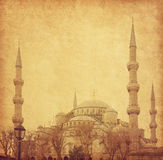 The Sultan Ahmed Mosque Stock Photography
