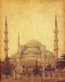 The Sultan Ahmed Mosque Stock Images
