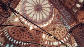 Sultan Ahmed mosque & x28;blue mosque& x29; royalty free stock photo