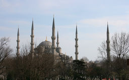 The Sultan Ahmed Mosque (Blue Mosque) Stock Photo