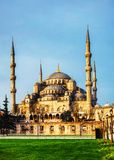 Sultan Ahmed Mosque (Blue Mosque) in Istanbul Stock Image