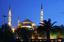 Sultan Ahmed Mosque (Blue Mosque) in Istanbul Stock Photography