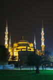 Sultan Ahmed Mosque (Blue Mosque) in Istanbul Royalty Free Stock Images