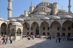 Sultan Ahmed Mosque (Blue Mosque) Royalty Free Stock Photo