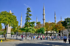 Sultan Ahmed Mosque (Blue Mosque) Stock Photo