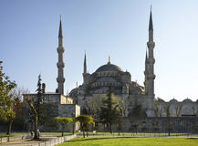 Sultan Ahmed Mosque (Blue mosque) in Istanbul. Turkey Stock Images