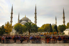 Sultan Ahmed Mosque (Blue Mosque), Istanbul, Turkey. Sultan Ahmed Mosque (Blue Mosque), Istanbul, Turkey Royalty Free Stock Image