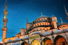 Sultan Ahmed Mosque or Blue Mosque in Istanbul, Turkey Royalty Free Stock Photo