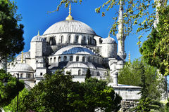 Sultan Ahmed Mosque or Blue Mosque in Istanbul, Turkey Stock Image