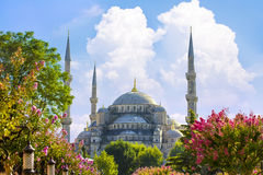 Sultan Ahmed Mosque Blue Mosque, Istanbul, Turkey. Stock Photos