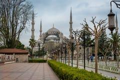 Sultan Ahmed Mosque/die blaue Moschee, Istanbul, die Türkei lizenzfreies stockfoto