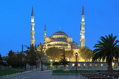 Sultan Ahmed Mosque in early morning, Istanbul, Turkey Stock Images
