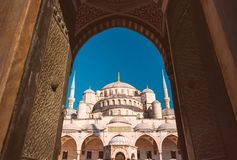Sultan Ahmed Mosque em Istambul, Turquia foto de stock royalty free