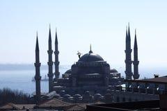 Sultan Ahmed Mosque en Estambul imagen de archivo